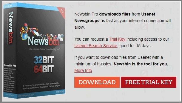 Newsbin Pro free trial